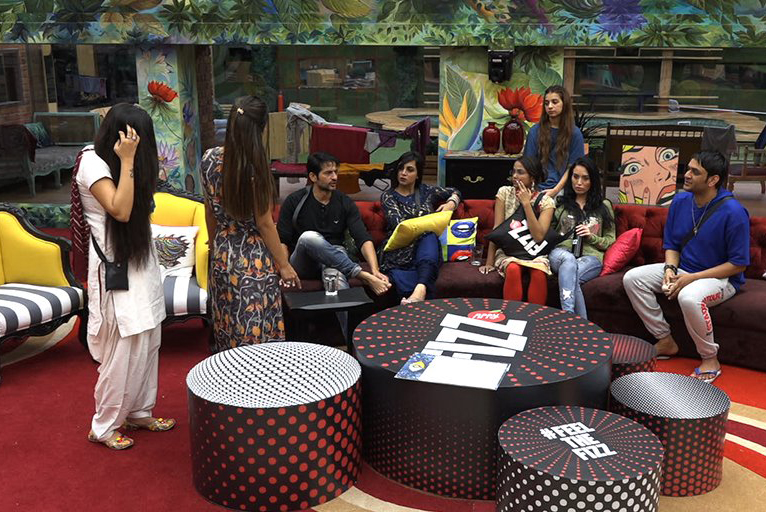 all the housemates of bigg boss house