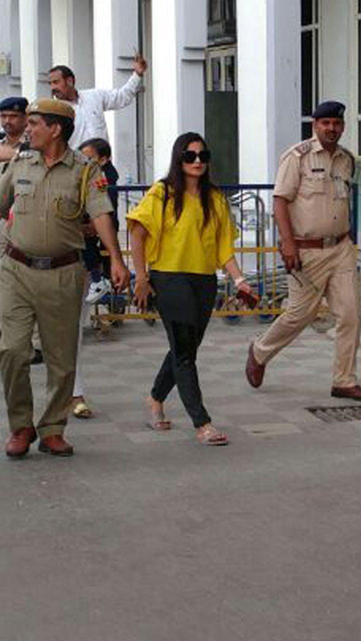 alvira khan at the airport