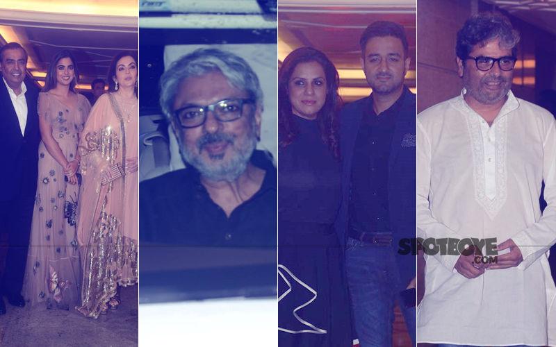Priyanka Chopra-Nick Jonas Engagement Party: Mukesh Ambani & Family, Sanjay Leela Bhansali, Siddharth Anand, Vishal Bhardwaj Attend The Gala Bash