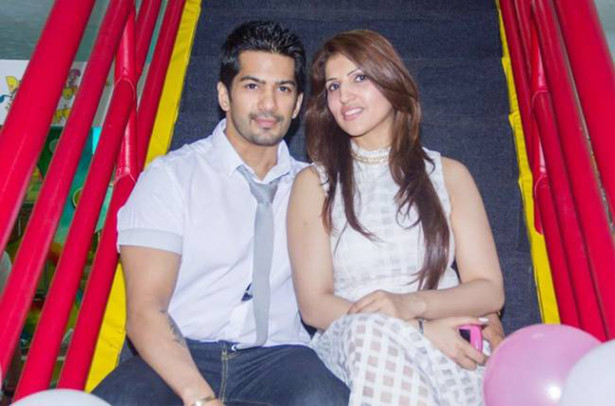 amit tandon and ruby during happier times