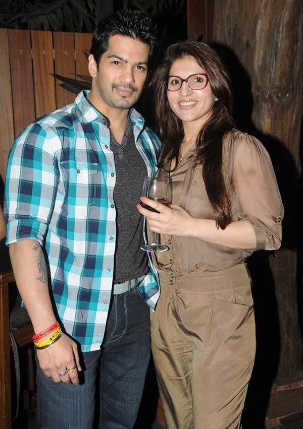 amit tandon with wife ruby in happier times