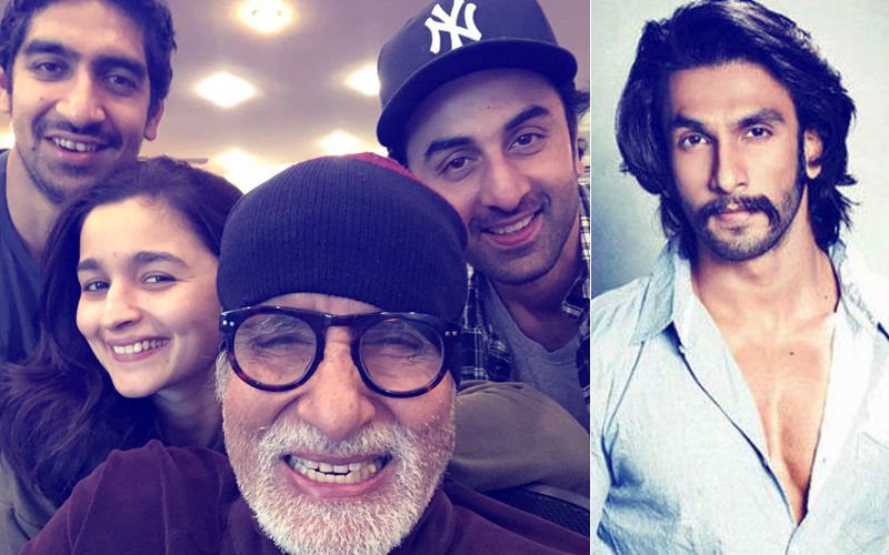 Amitabh Bachchan Trolled! Megastar Posts Selfie With Ranbir But Calls Him 'Ranveer'