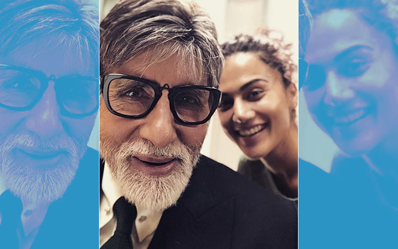 Amitabh Bachchan & Taapsee Pannu Are Shooting In Scotland For A Special Project