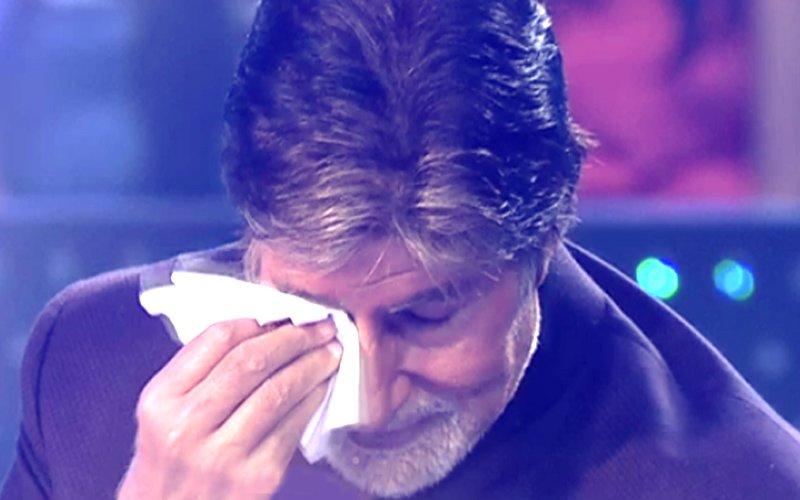 Why Did Amitabh Bachchan Get Teary-Eyed On The Sets Of Kaun Banega Crorepati 9?