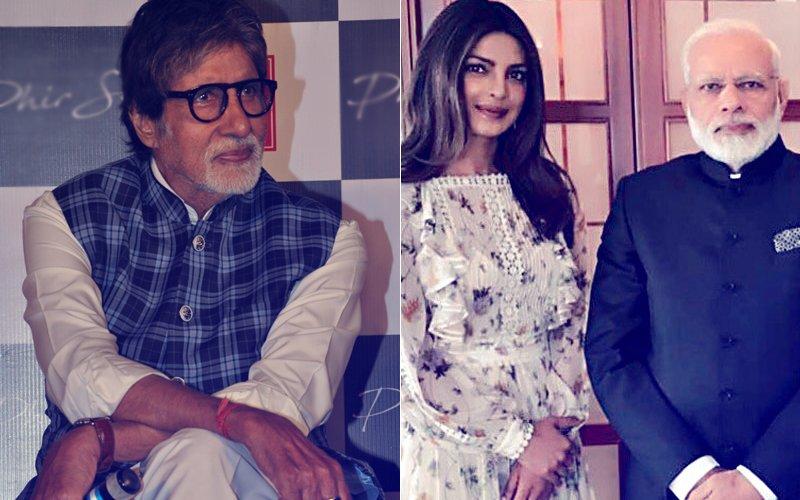 This is How Amitabh Bachchan Reacted To Priyanka Chopra-PM Narendra Modi Troll Controversy...