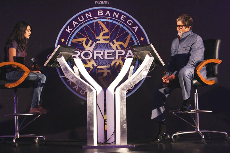 amitabh bachchan kbc game on the hot seat