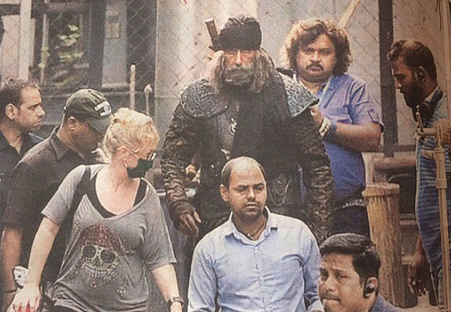 amitabh bachchan llok leaked from thugs of hindostan