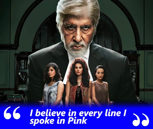 amitabh bachchan spotboye salaam exclusive interview with vickey lalwani talking about his belief in every line he spoke in pink
