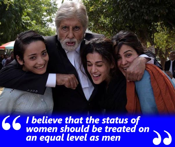 amitabh bachchan spotboye salaam exclusive interview with vickey lalwani talking about women being equal to men