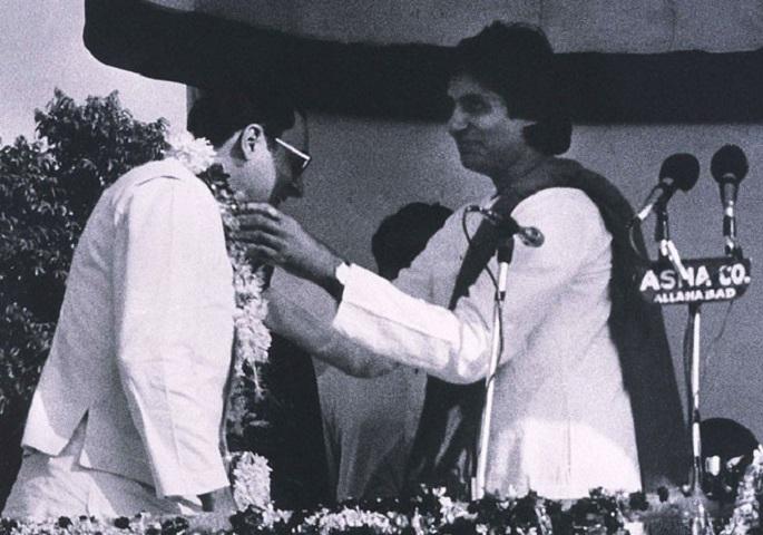 amitabh bachchan with rajiv gandhi