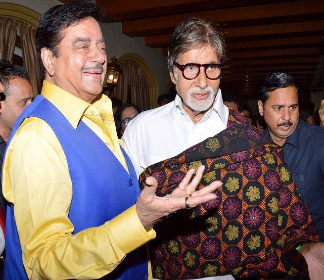 amitabh bachchan with shatrugan sinha