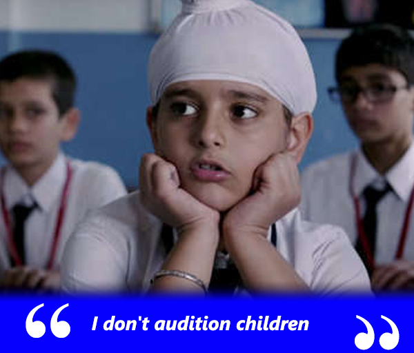 amole gupte doesnt audition children