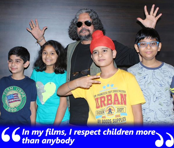 amole gupte with sniff cast