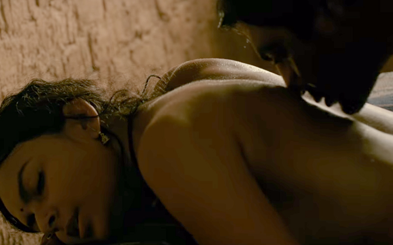 an intimate scene from babumoshai