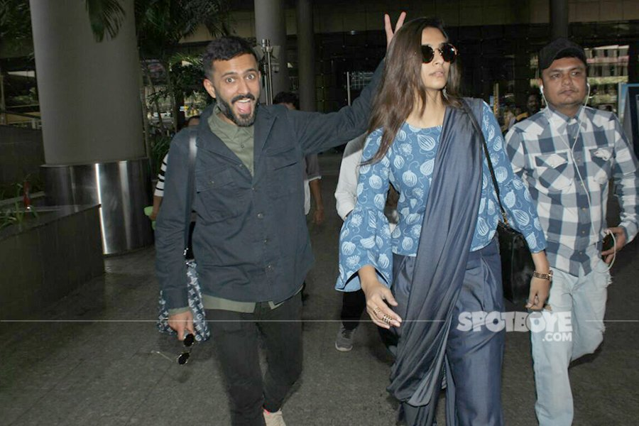 anand ahuja being goffy around sonam kapoor