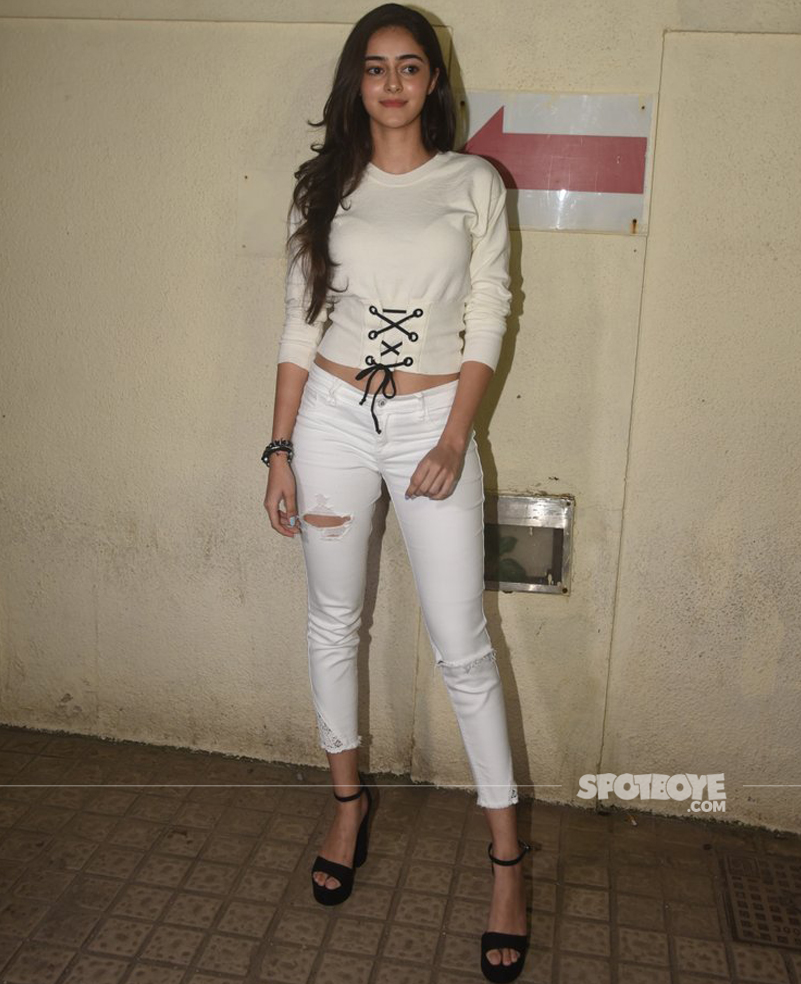 ananya pandey at the judwaa 2 screening