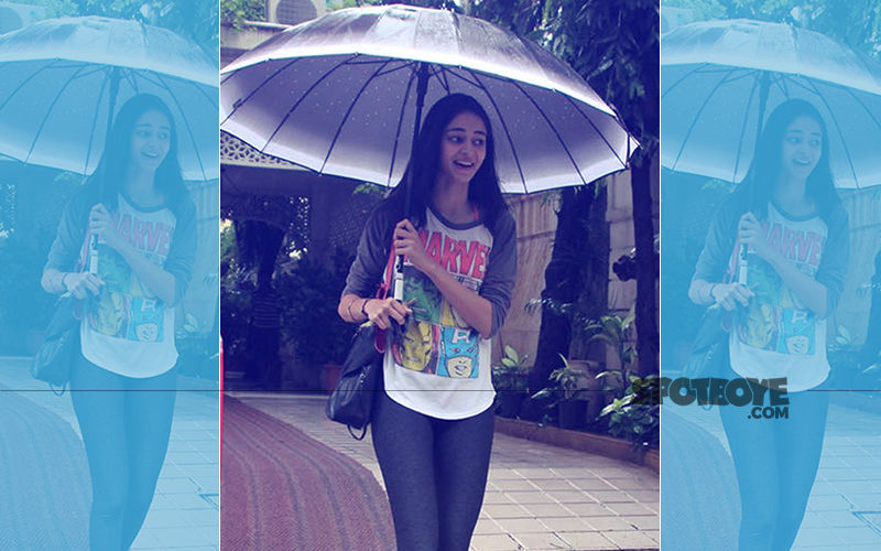 Time For Some Workout: Ananya Panday Spotted Outside The Gym