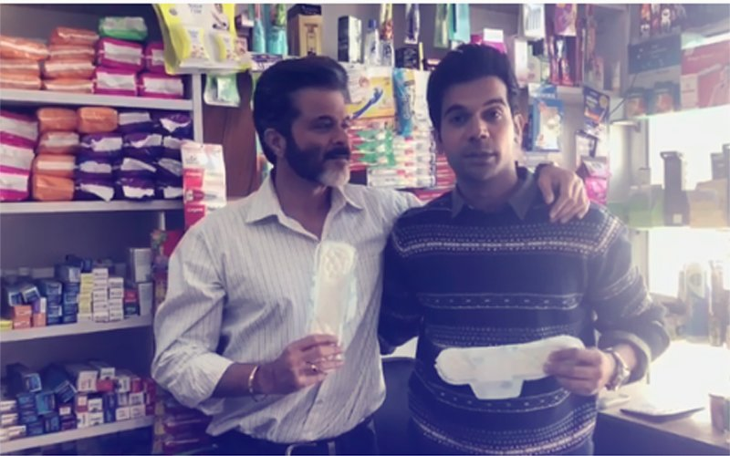 PAD MAN(IA): When Anil Kapoor Sold A SANITARY PAD To Rajkummar Rao