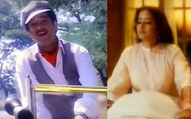 anil kapoor and manisha koirala in ek ladki ko song