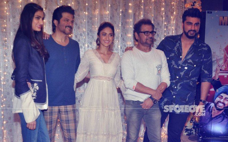 Arjun Kapoor, Anil Kapoor, Ileana D'Cruz & Athiya Shetty Promote Mubarakan