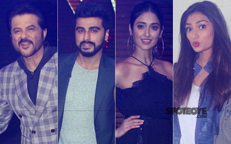 Anil Kapoor, Arjun Kapoor, Ileana D'Cruz and Athiya Shetty Promote Mubarakan On Sabse Bada Kalakar