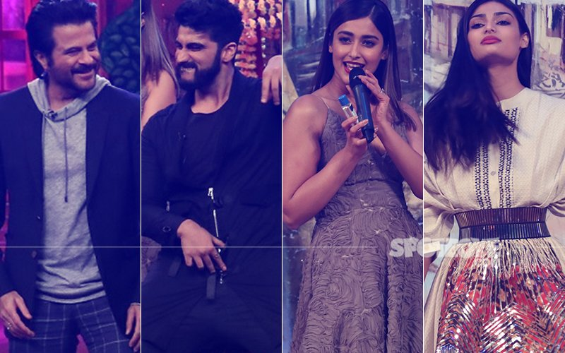 Anil Kapoor, Arjun Kapoor, Ileana D'Cruz, Athiya Shetty Have A Blast On-The-Sets Of The Drama Company