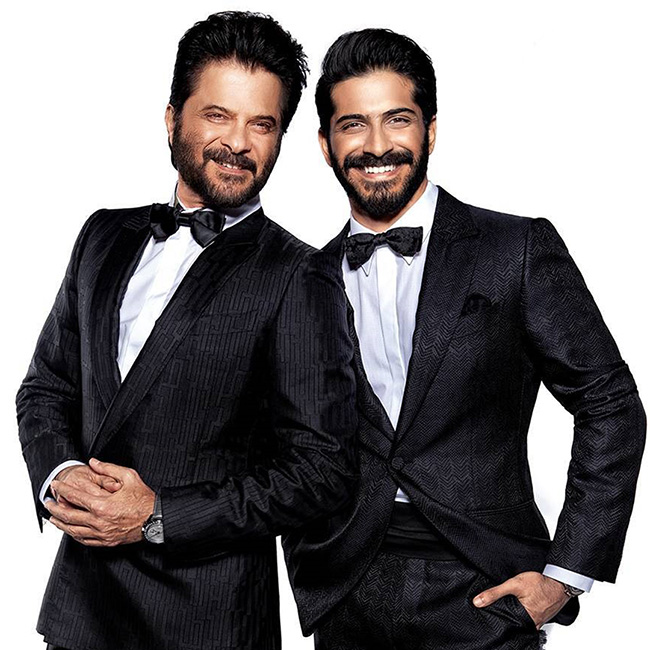 anil kapoor with son harshvardhan