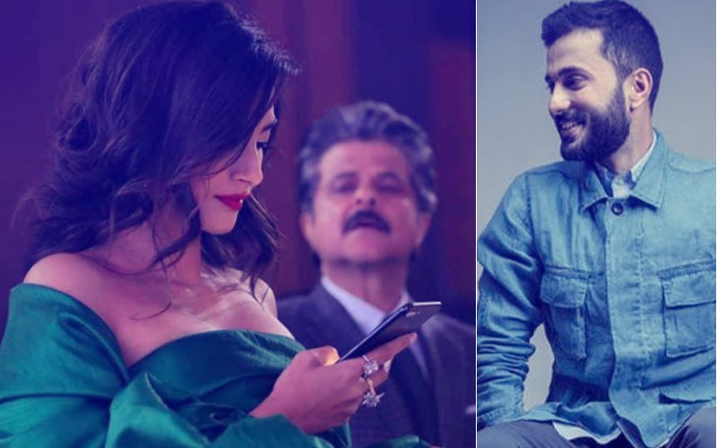 Anil Kapoor Tries To Peep Into Sonam Kapoor's Phone,  Anand Ahuja Comments