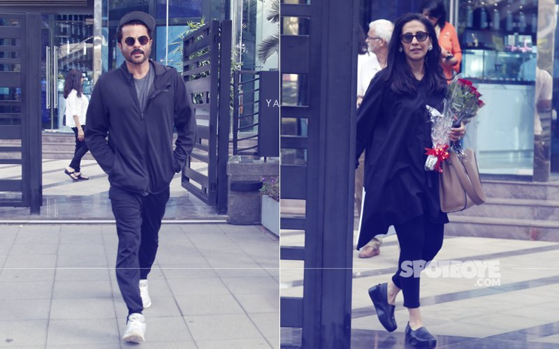 Sundays Are For Lunching: It's A Date For Anil & Sunita Kapoor