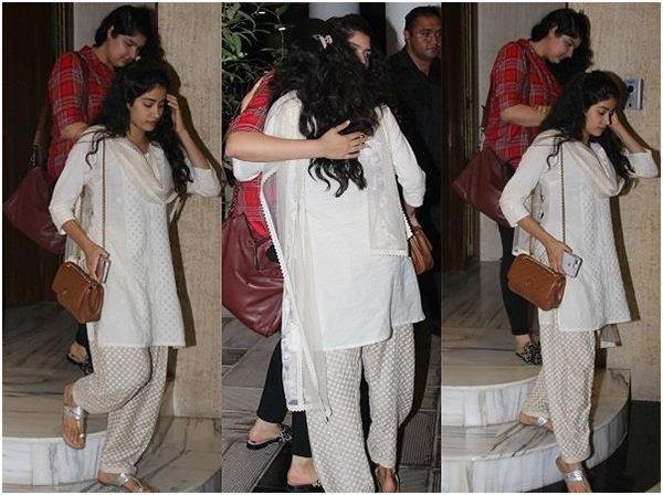 Anshula Kapoor With Janhvi Kapoor