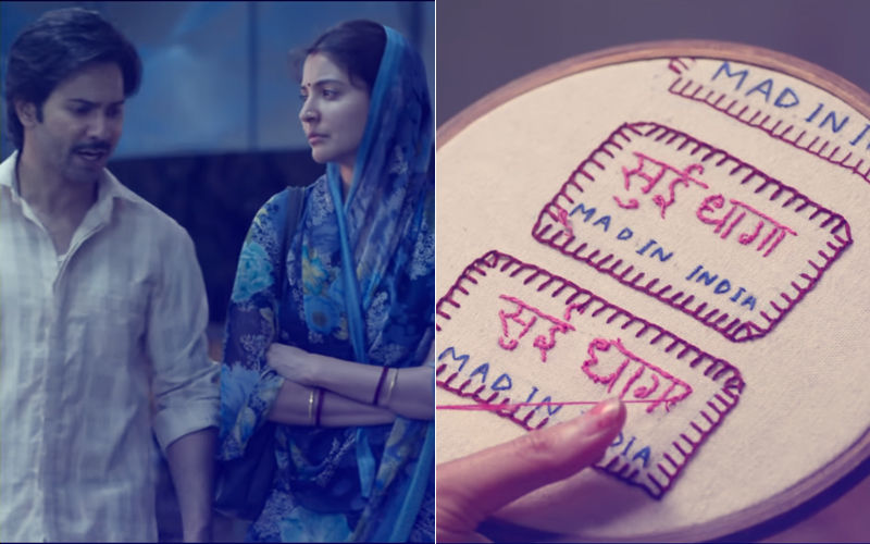 Sui Dhaaga Trailer Out: Anushka Sharma & Varun Dhawan Are At Their Endearing Best In This Motivational Journey