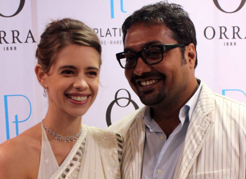 anurag kashyap and kalki koechlin spotted at an event
