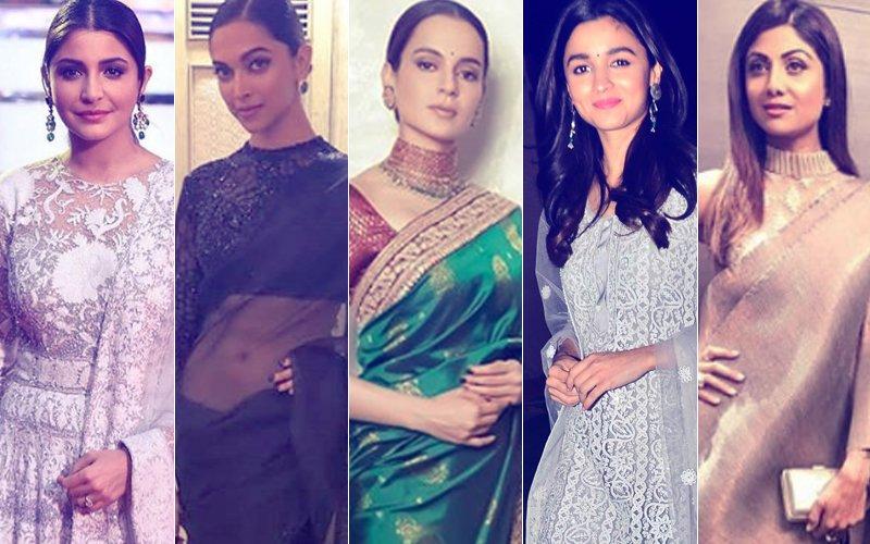 BEST DRESSED & WORST DRESSED At Umang 2018: Anushka Sharma, Deepika Padukone, Kangana Ranaut, Alia Bhatt Or Shilpa Shetty?