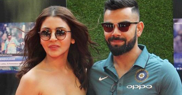 anushka sharma and virat kohli at an event
