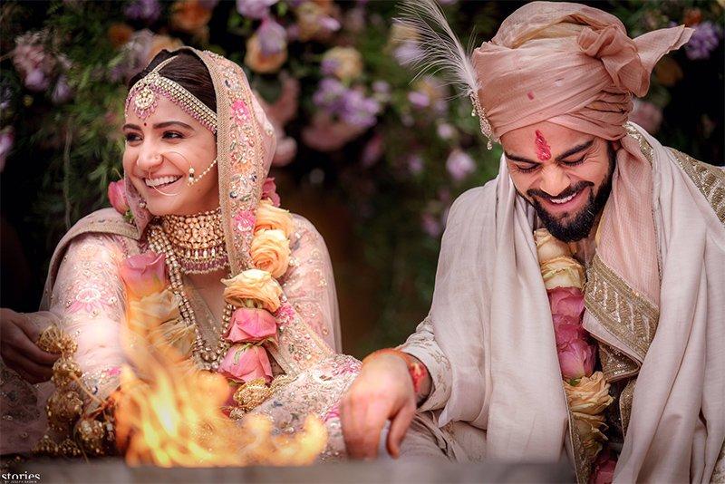 anushka sharma and virat kohli get married