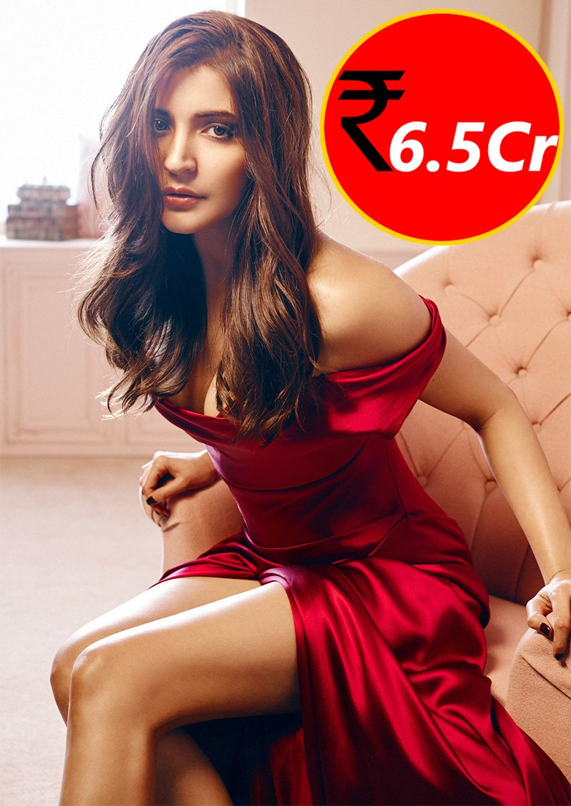 anushka sharma charges 65 cr for movies