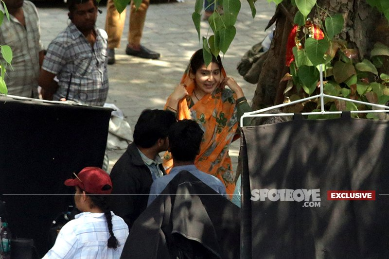 anushka sharma gets into her character