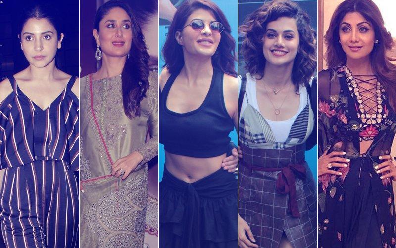 STUNNER OR BUMMER: Anushka Sharma, Kareena Kapoor, Jacqueline Fernandez, Taapsee Pannu Or Shilpa Shetty?