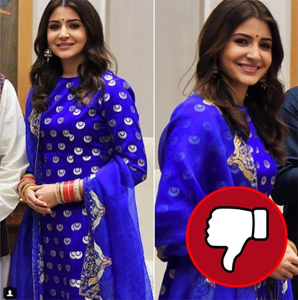 anushka sharma s indian attire fails to impress