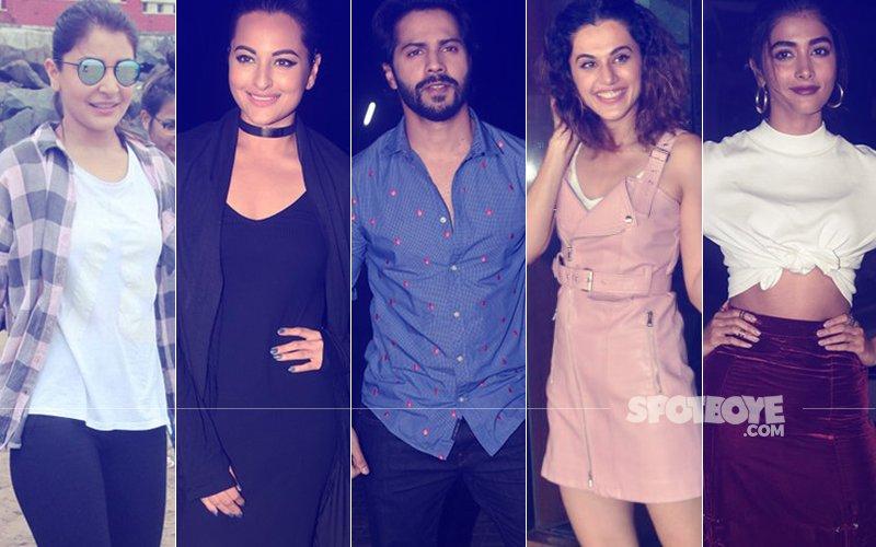 STUNNER OR BUMMER: Anushka Sharma, Sonakshi Sinha, Varun Dhawan, Taapsee Pannu Or Pooja Hegde?