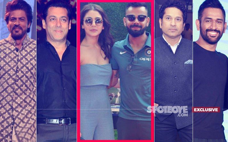 VIRAT-ANUSHKA MUMBAI RECEPTION: SRK, Salman, Sachin, Dhoni, Rohit- Does It Get Bigger Than This?