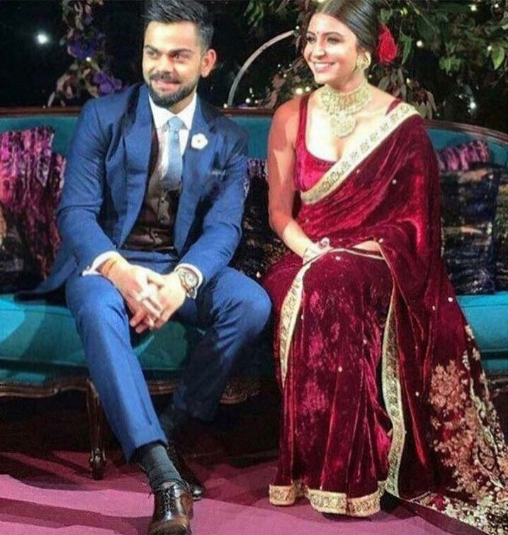 anushka sharma virat kohli ring ceremony