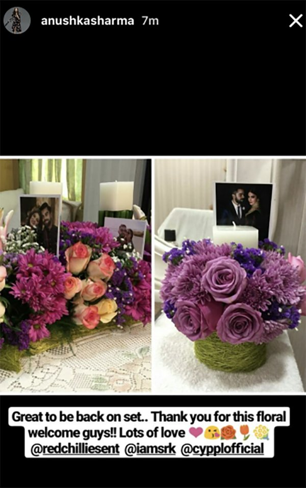 anushka sharmas instagram post