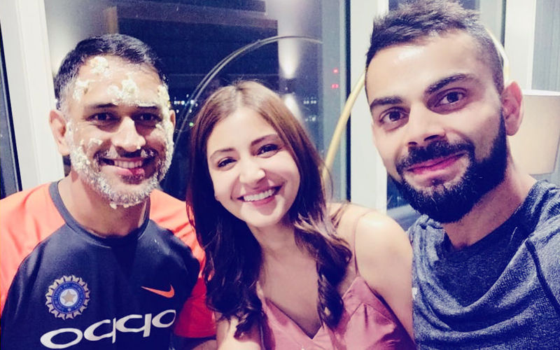 Anushka Sharma Joins MS Dhoni's Birthday Celebration With Hubby Virat Kohli