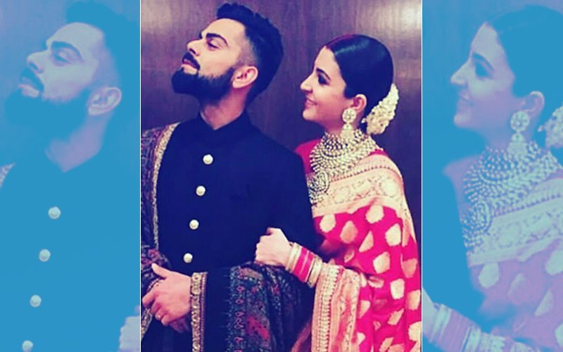 When Virat Kohli TURNED His Face AWAY From Anushka Sharma At Their Delhi Reception