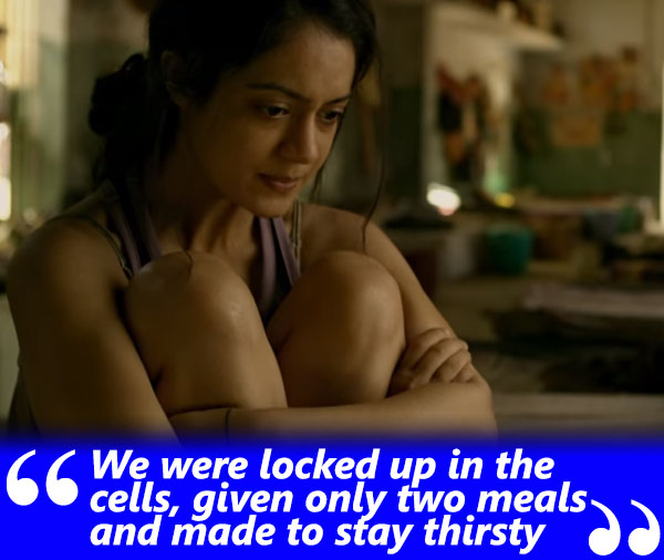 anya singh exclusive interview we were given on two meals and kept thirsty