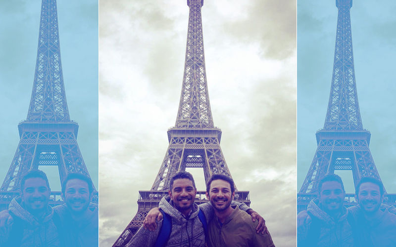 Apurva Asrani Celebrates Decriminalisation Of Homosexuality, Shares Loved-Up Pic With Boyfriend From Eiffel Tower