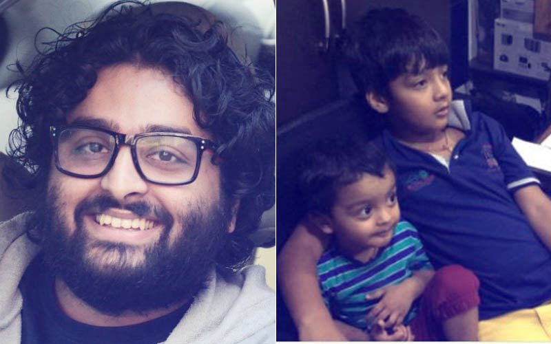 Arijit Singh Gives The World The First Glimpse Of His Two Children