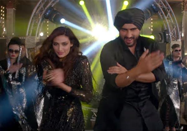 arjun kapoor and athiya shetty in mubarakan title song