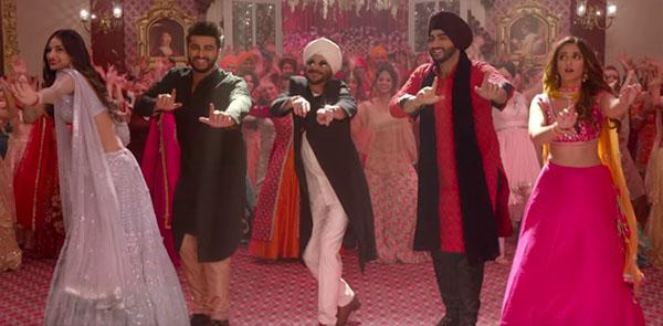 arjun kapoor, anil kapoor, athiya shetty and ileana dcruz in a dance sequel from mubarakan